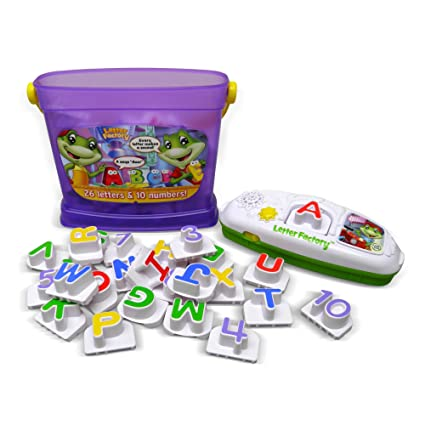 Amazon.com: LeapFrog Letter Factory Phonics and Numbers: Toys & Games