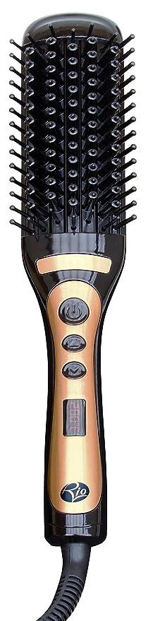 Rio Beauty HBST - Cepillo alisador eléctrico