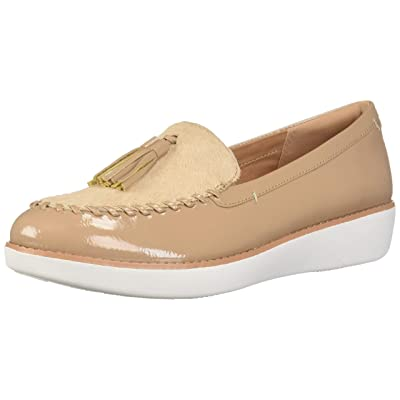 FitFlop Women's Paige Faux-Pony Moccasin Loafer Flat | Loafers & Slip-Ons