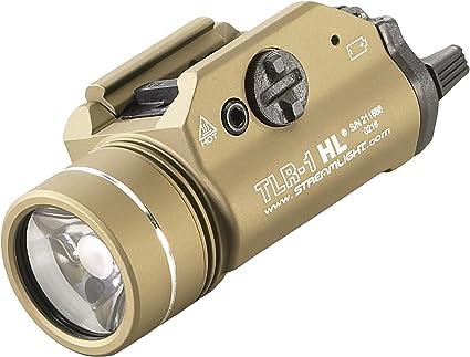 Streamlight 69266 TLR-1-HL High Lumen Rail-Mounted Tactical Light Flat Dark Earth for sale online