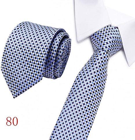 KYDCB Hombres Corbata Rayada 8 Cm Corbatas Flacas de Negocios para ...