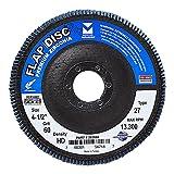 Mercer Industries 262060 Zirconia Flap Disc, High