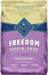 Blue Buffalo Freedom Grain Free Natural Indoor Adult Dry