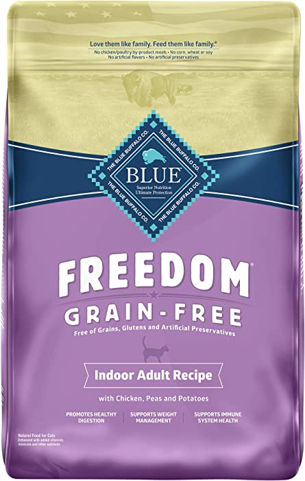 Top 9 Blue Freedom Grain Free Indoor Cat Food