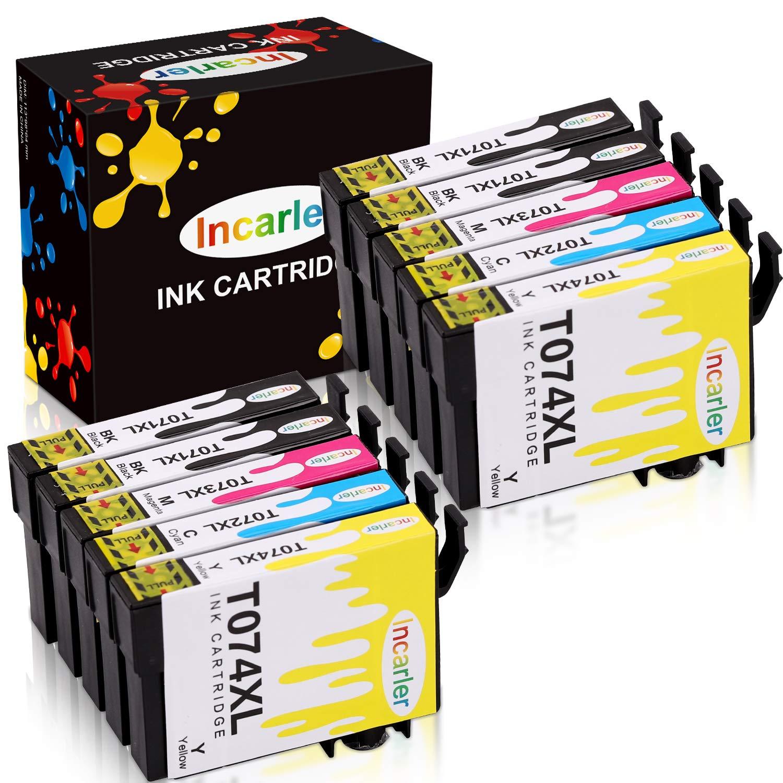Incarler T0715 Cartuchos de Tinta Compatible con Epson T071 T0712 ...