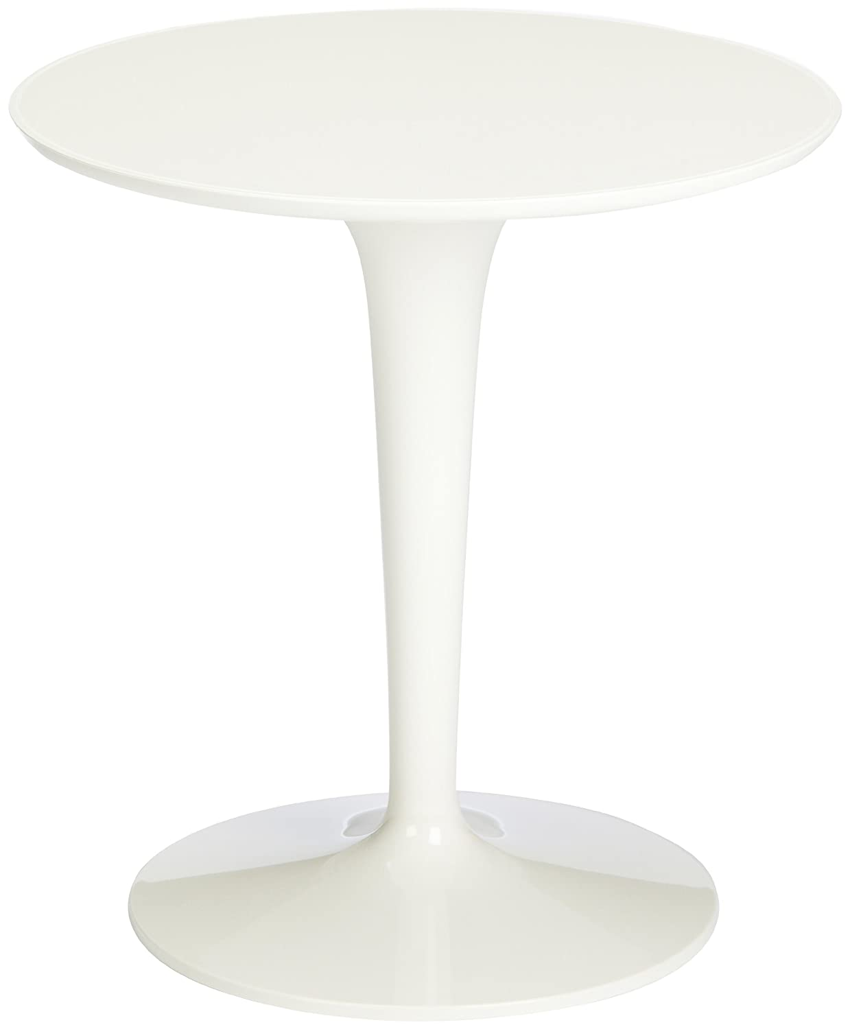 Kartell 8600/03 Tip Top Side Table Tavolino, Bianco 860003