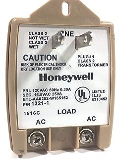 Brilliant Amazon Com Honeywell Ademco 1321 16 5V Plug In Transformer Plug Wiring Cloud Oideiuggs Outletorg