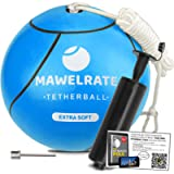 MAWELRATE Tetherball and Rope Set 2.0 - Outdoor Game for Kids - Replaceable Rope - Portable Fun for Park, Backyard…