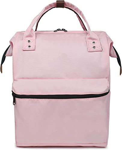 FITMYFAVO 15.6 Doctor Backpack for Women Cute Nurse Daypack Waterproof Day Pack Bags for Women Pink