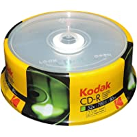 Kodak CD-R Kodak CD-R 700MB 52x Spindle 25 Pack, (510025)