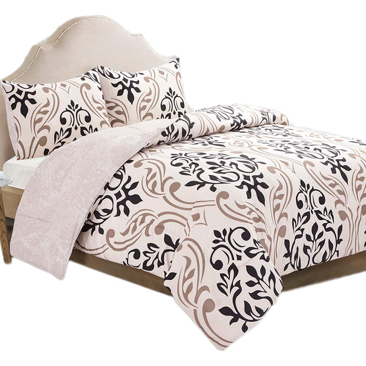 Amazon.com: HollyHOME Juego de cama en una bolsa, 2 piezas ...