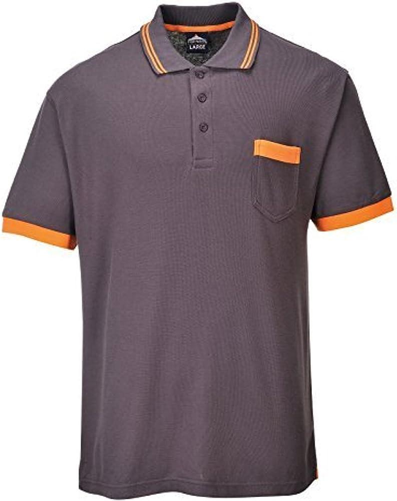 Texo Contraste Color Camisa Polo De Hombre - Negro, Gris O Azul ...