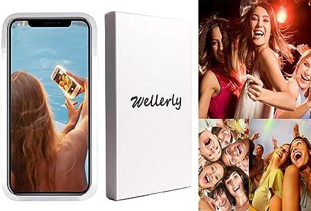 Wellerly Schutzhülle Für Iphone 11 Mit Led Beleuchtung Elektronik