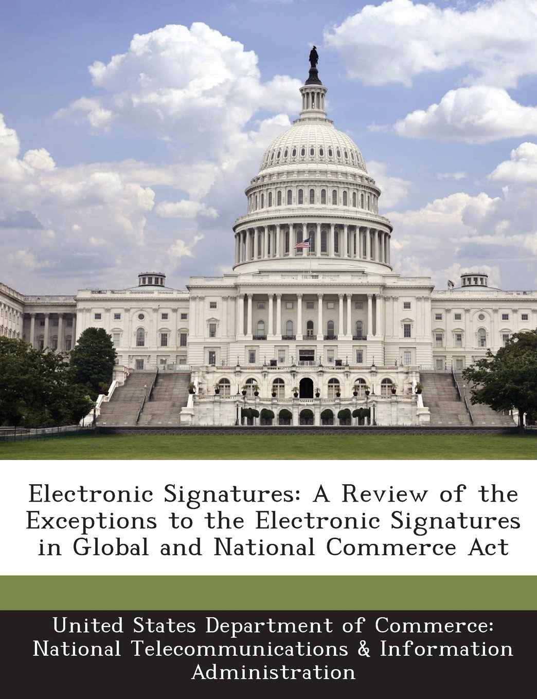 Electronic Signatures: A Review of the Exceptions to the Electronic Signatures in Global and National Commerce Act ebook