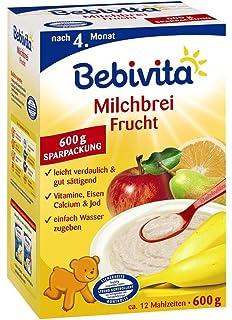 Bebivita leche de postre con frutas, 600g