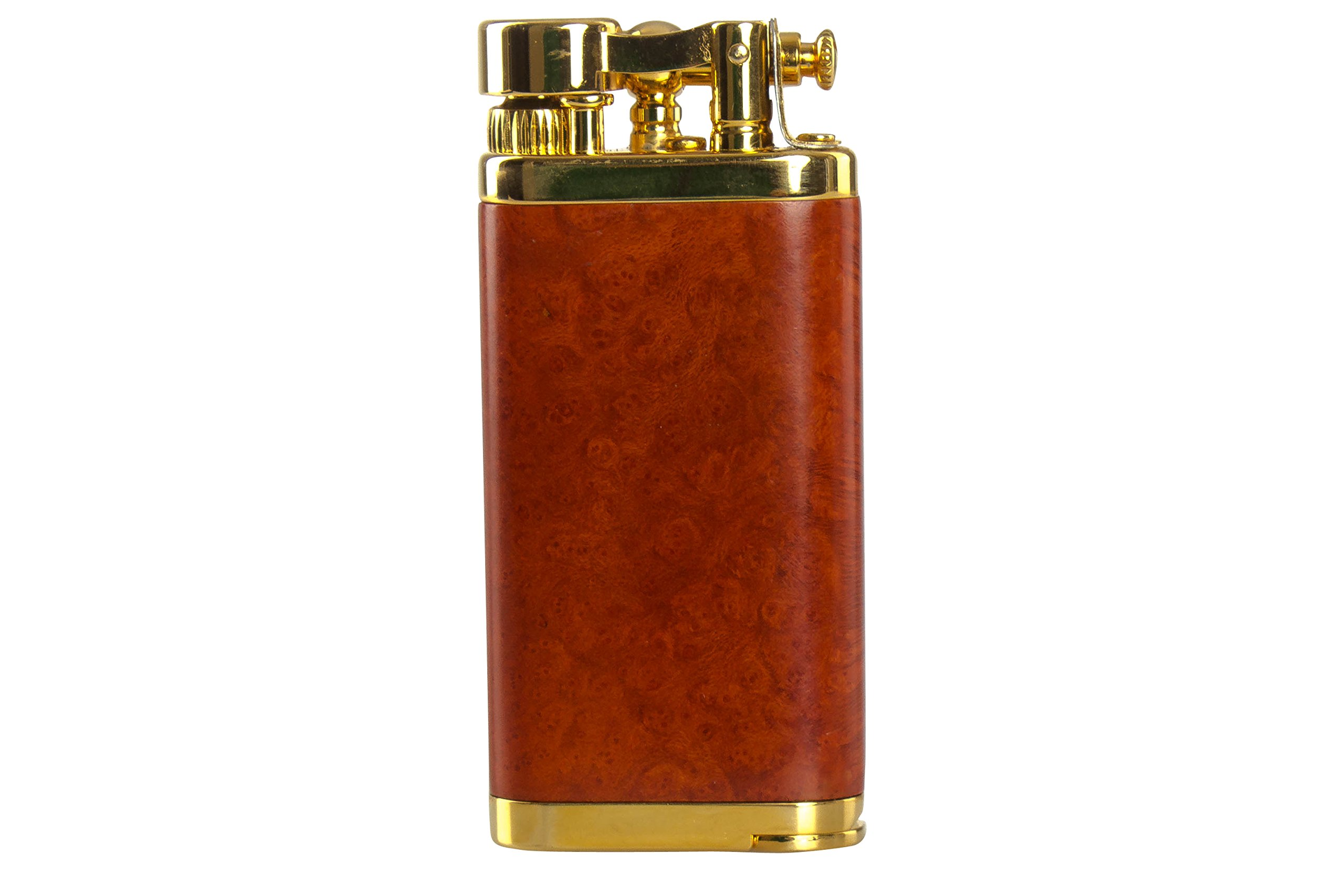 IM Corona Old Boy Gold And Natural Smooth Briar Pipe Lighter by IM Corona (Image #5)