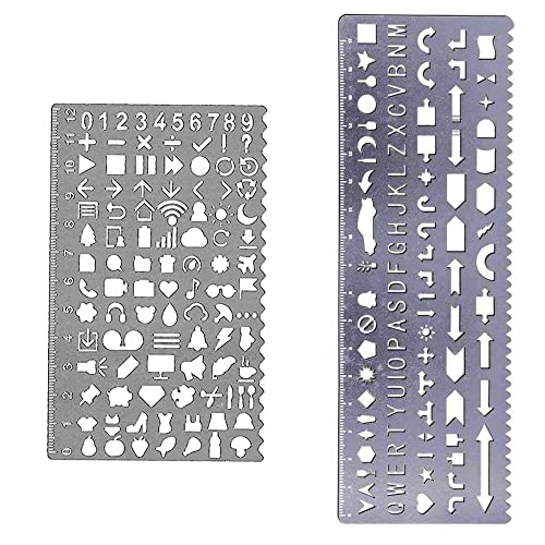 letter and number sets metal stencil letters amp numbers 18070 | 71s7rrUbbnL. SR500,500