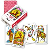 Fournier nº 313 Lilitut Baraja De Cartas De Viaje Color Rojo 21598