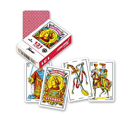 Amazon.com: Mini 131 Liliput Deck 40 Spanish Playing Cards ...