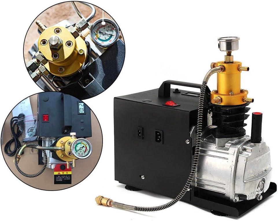 Bomba neumática alta presión, Compresor de aire eléctrico, 1800 W, PCP, 40 MPA, 4500 PSI