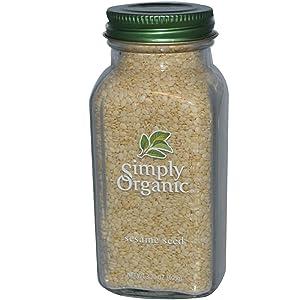 Simply Organic, Sesame Seed, 3.7 oz (105 g)