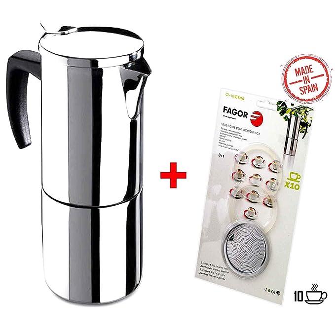 Cafetera Fagor Etna 10T Moca eléctrica para hasta 10 tazas ...