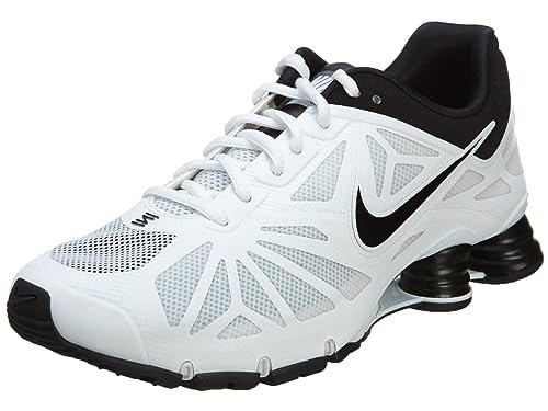 official photos d6d0a 06b80 Nike Shox Turbo 14 para Hombre Athletic Blanco Negro Calzado Deportivo (8,5)