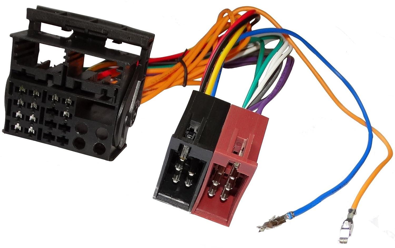 AERZETIX: Adaptateur faisceau câ ble fiche ISO pour autoradio d'origine pour auto voiture SK2-C12043-R889