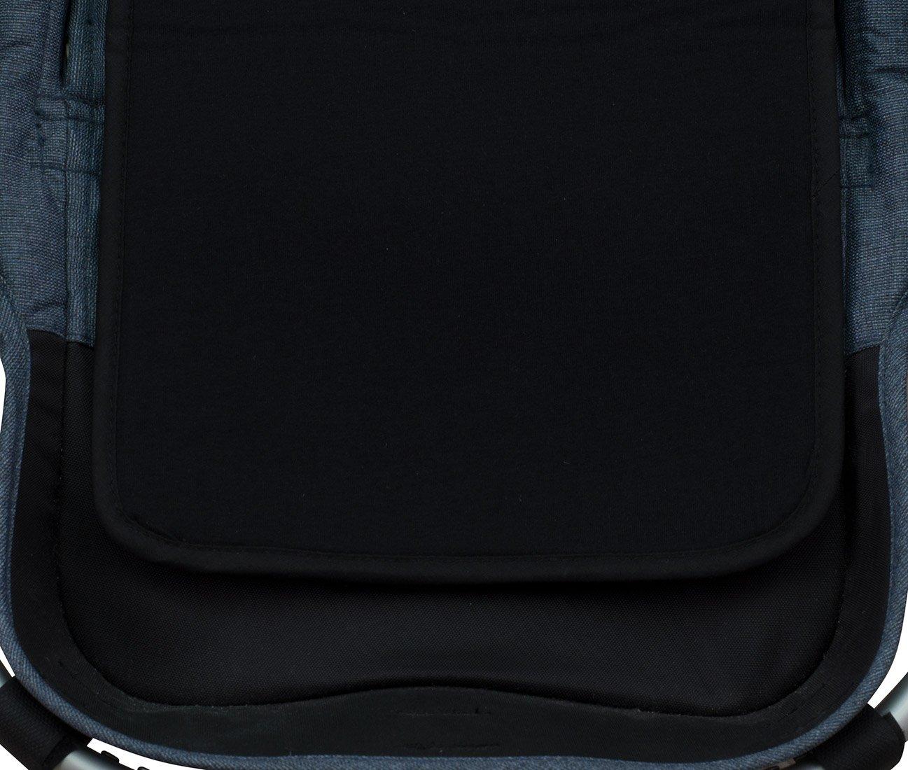 Black Series JANABEBE Sitzauflage f/ür Zwillingskinderwagen