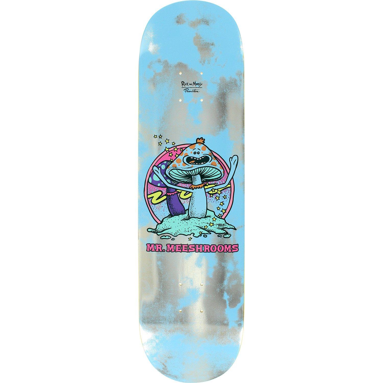 8 x 32.125 Primitive Skateboarding Rick Morty x Primitive Skate Mr Meeshrooms Skateboard Deck