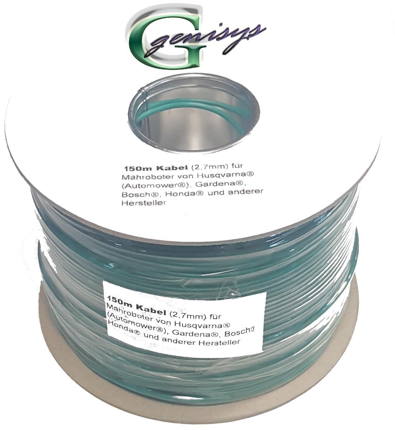 Begrenzungs Draht /Ø2,7mm genisys Begrenzungskabel Kabel 150m Gardena smart Sileno Sileno