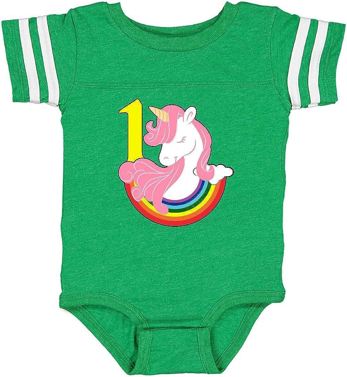 inktastic 1st Birthday Unicorn Infant Creeper