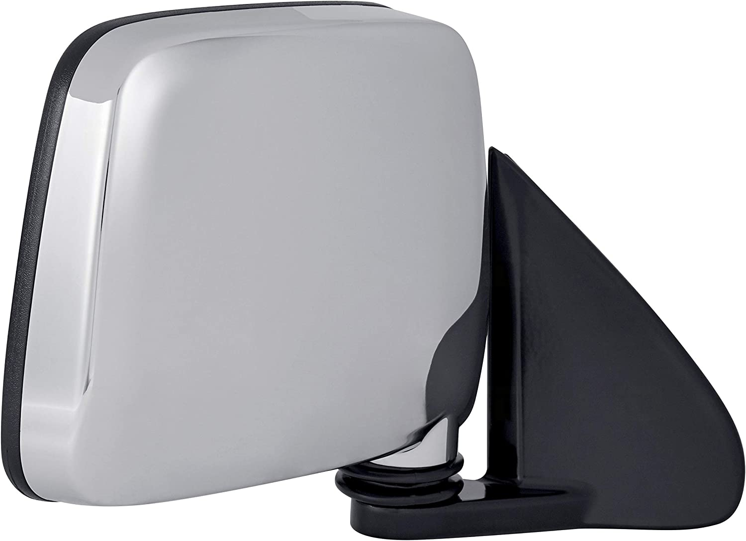 for 1986-1997 Nissan Pickup Manual Chrome Roane Concepts Replacement Left Driver Side Door Mirror NI1320109