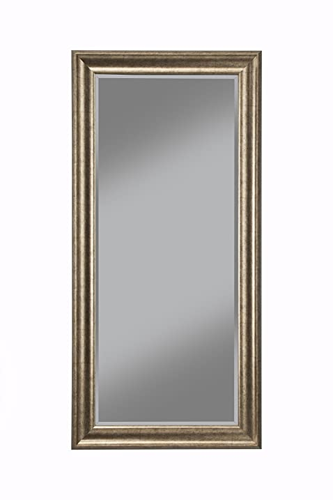 sandberg furniture 14111 full length leaner mirror frame antique gold - Mirror Frame