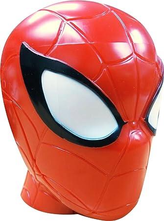 Reloj Digital en Caja de plastico con Forma de Spiderman: Amazon.es: Juguetes y juegos