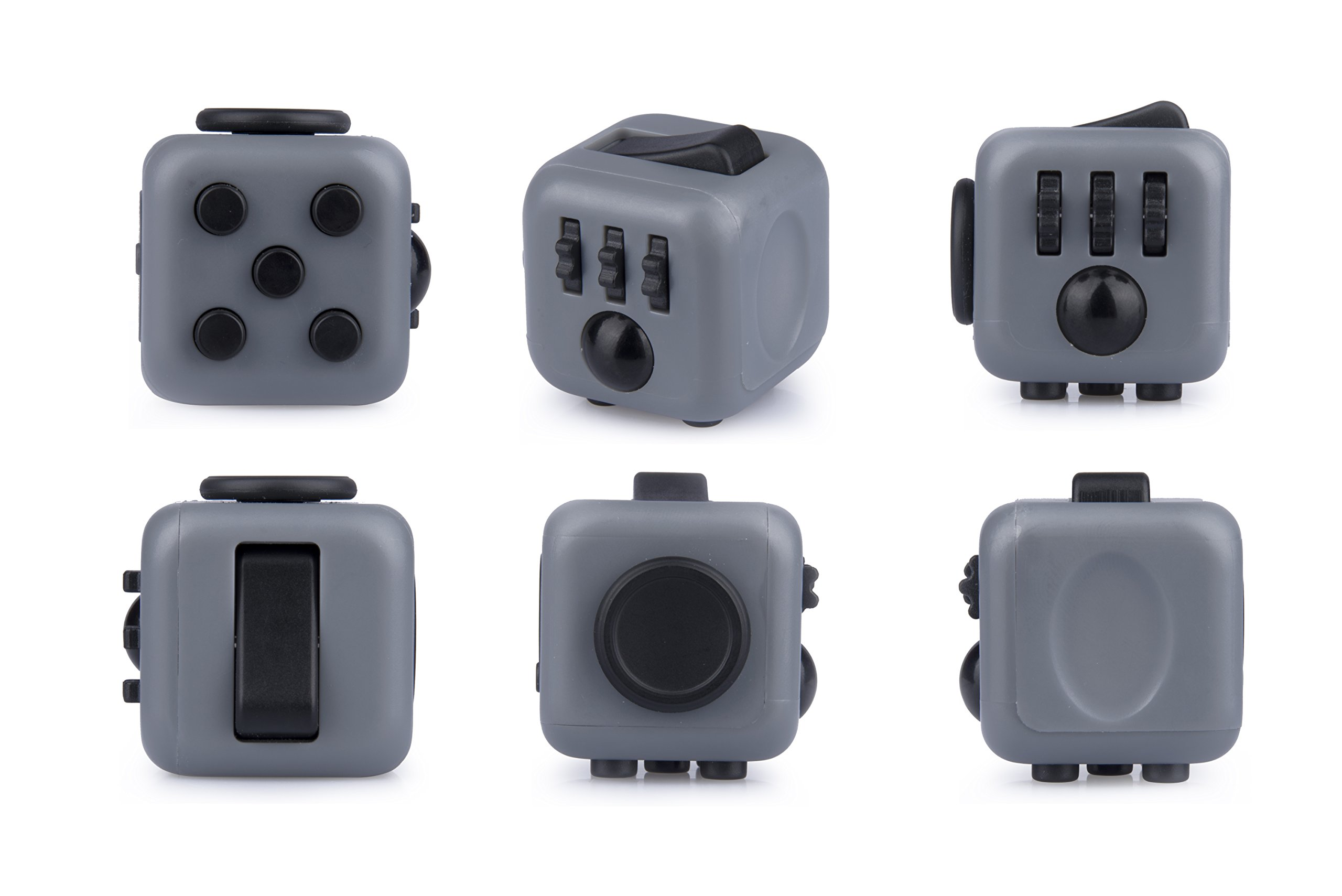 Antsy Labs Graphite Fidget Cube by Antsy Labs