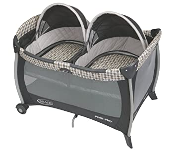 Graco Pack U0027n Play Playard With Twins Bassinet, Vance, One Size