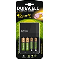 Duracell Caricabatterie da 45 Minuti, 1 Conteggio