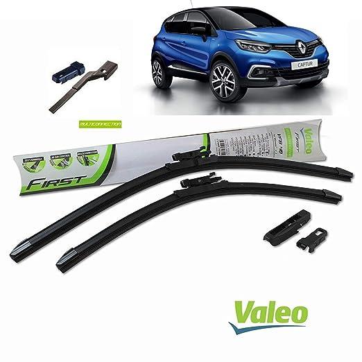 Valeo_group Valeo Juego de 2 escobillas de limpiaparabrisas Especiales para Renault Captur Dim. 650/350 mm: Amazon.es: Coche y moto
