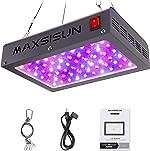 MAXSISUN 600W LED Grow Light, Full Spectrum LED Grow Lights for