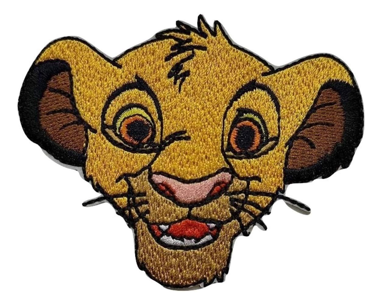 Choppershop /Écusson brod/é thermocollant Roi Lion Simba