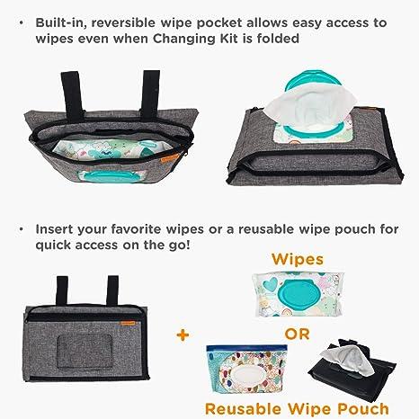 Amazon.com: liuliuby - Kit de cambiador de pañales portátil ...