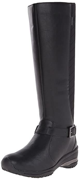 Jambu Women's Denver-Vegan Riding Boot, Black, ...