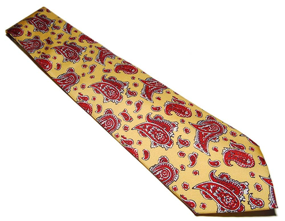 Ralph Lauren Polo Corbata de seda para hombre, diseño de cachemira ...
