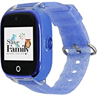 Reloj con GPS para niños SaveFamily Infantil Superior acuático Ip67 con cámara. Botón SOS, Anti-Bullying, Chat Privado…