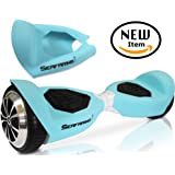 T5 SWAGTRON Silicone Case for SWAGTRON T5 model ONLY Electric Self Balancing Scooter Full-Body Protector Cover Skin for T5 Hover Board (Scooter not included)