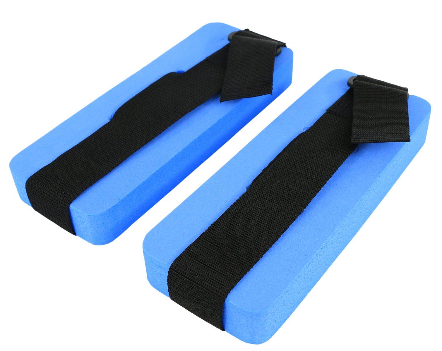 CanDo 20-4040B Ankle Cuffs, Pair, Blue