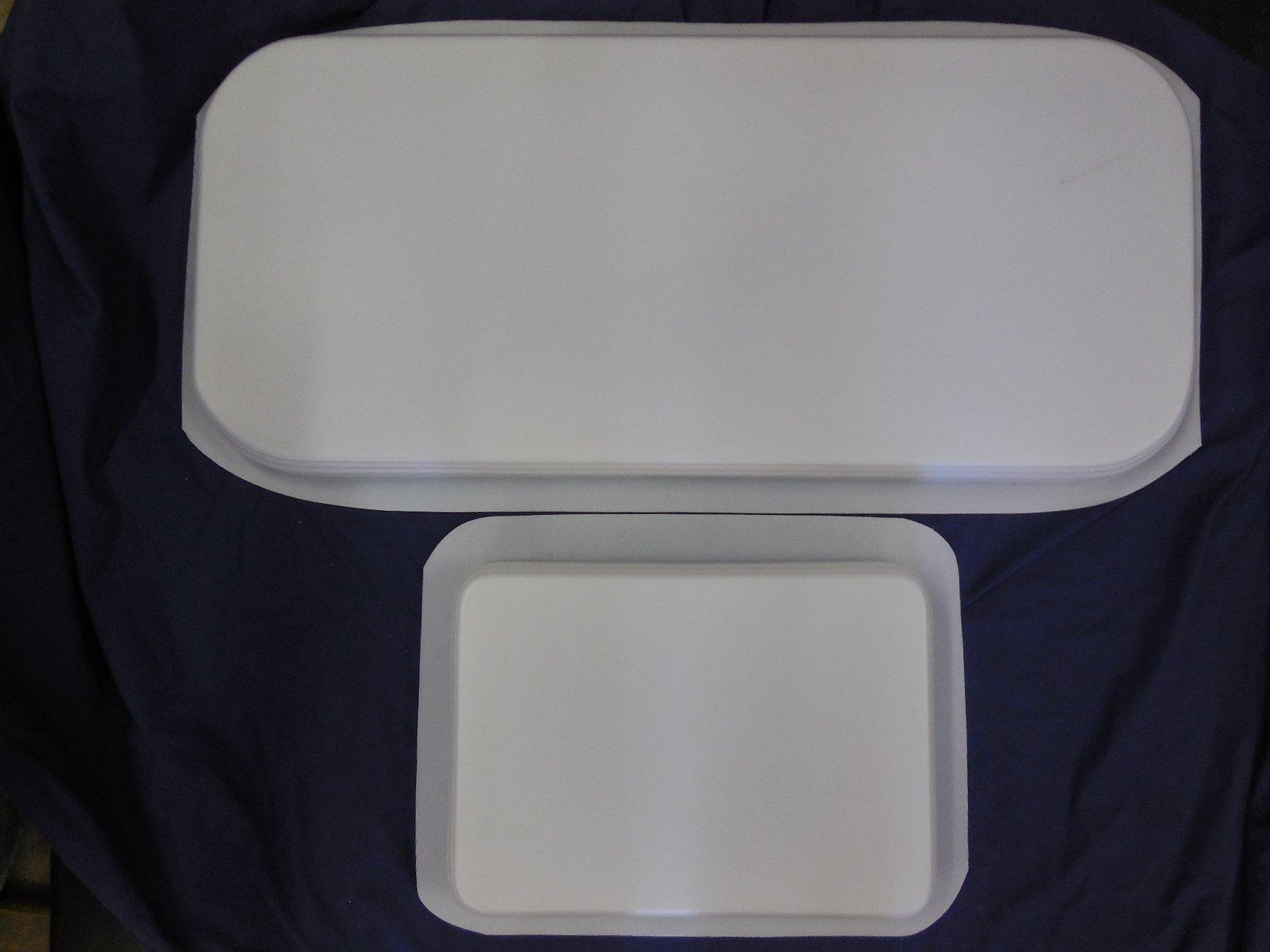 Simple Design Bench Concrete or Plaster Mold Set 9001