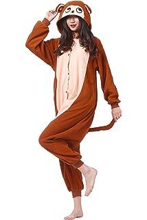 76dc92921c5da Magicmode Unisexe Cartoon Anime Hoodie Cosplay Animaux Onesie Costumes  Adultes Kigurumi Pyjamas Vêtements De Nuit