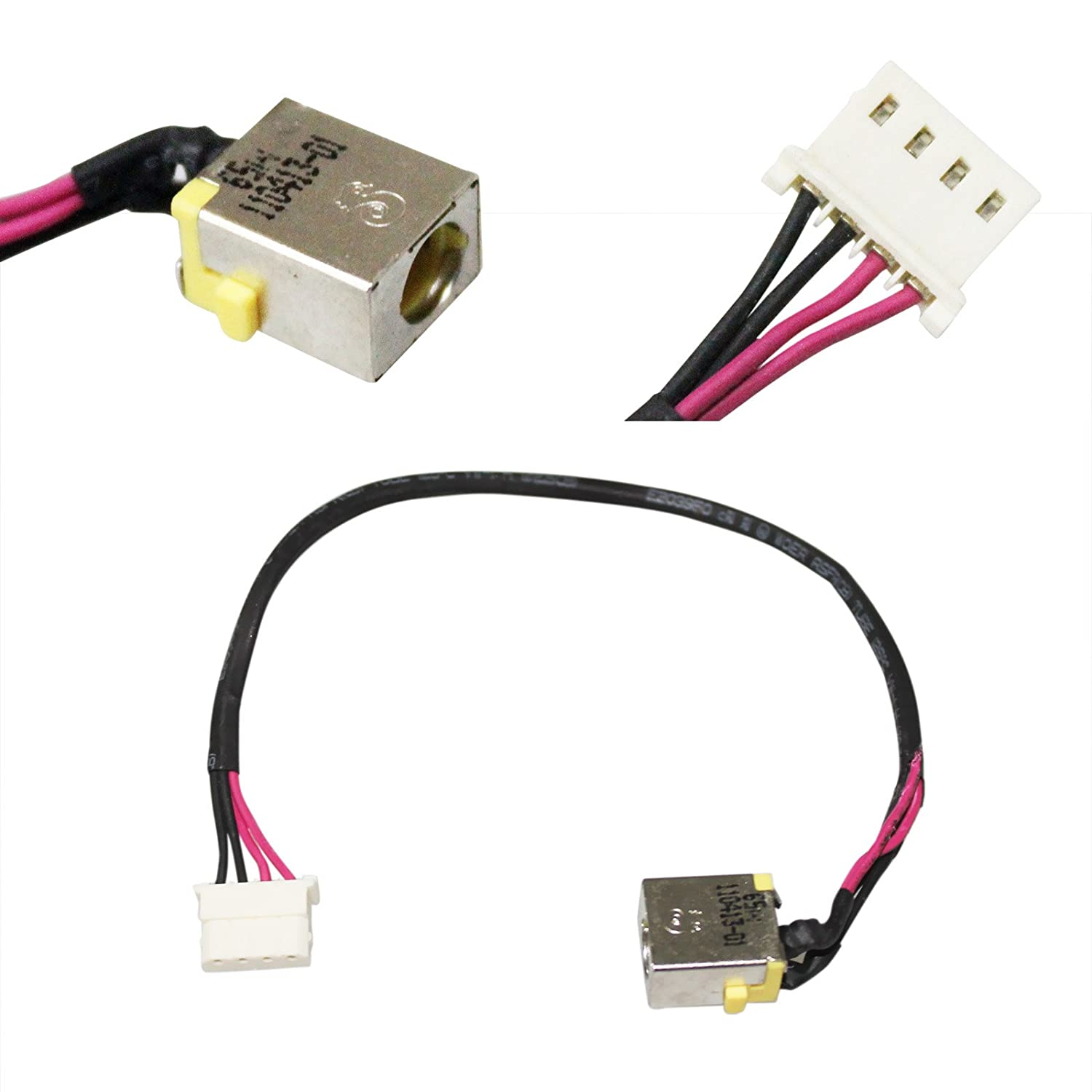 GinTai DC in Power Jack Socket with Cable Replacement for Acer Aspire DD0ZRKAD000 DD0ZRKAD100 DD0ZAAAD000
